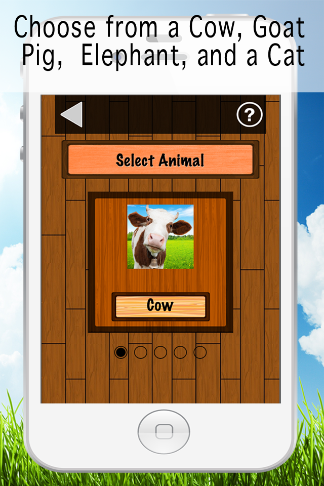 Milk it Game project screenshot