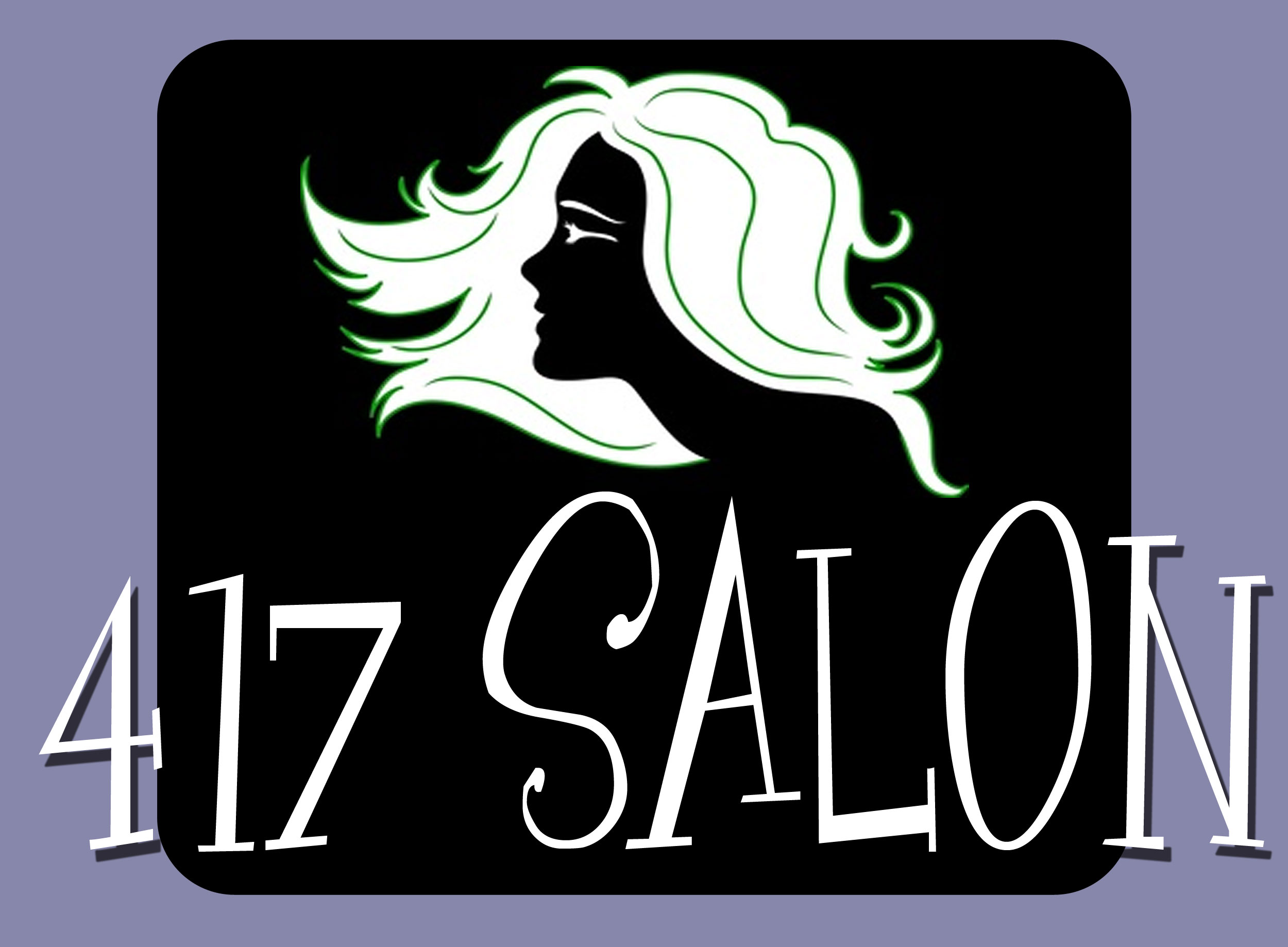 Logos - 417 Salon Logo Design