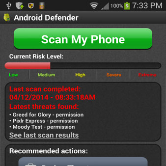 Android Virus Protection